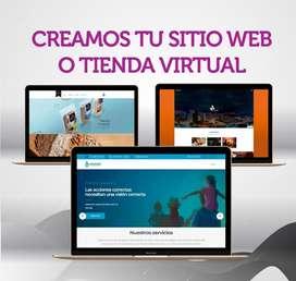 Diseño de páginas web, tiendas Online, Landing page, ecommerce, con hosting y dominio TODO COLOMBIA, Publicidad