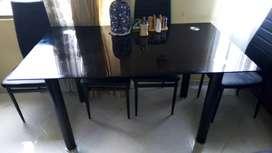 Mesa vidrio comedor