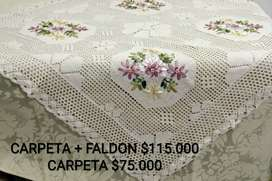 Venta de carpetas de mesas coquetas