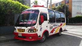 Bus NKR 19 pasajeros con cupo
