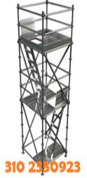 andamio tubular formaleta gatos cerchas mezcladoras vibradores concreto construccion ranas plumas sardinel