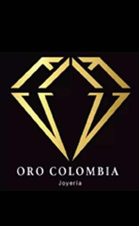 Oro Colombia joyería oferta laboral