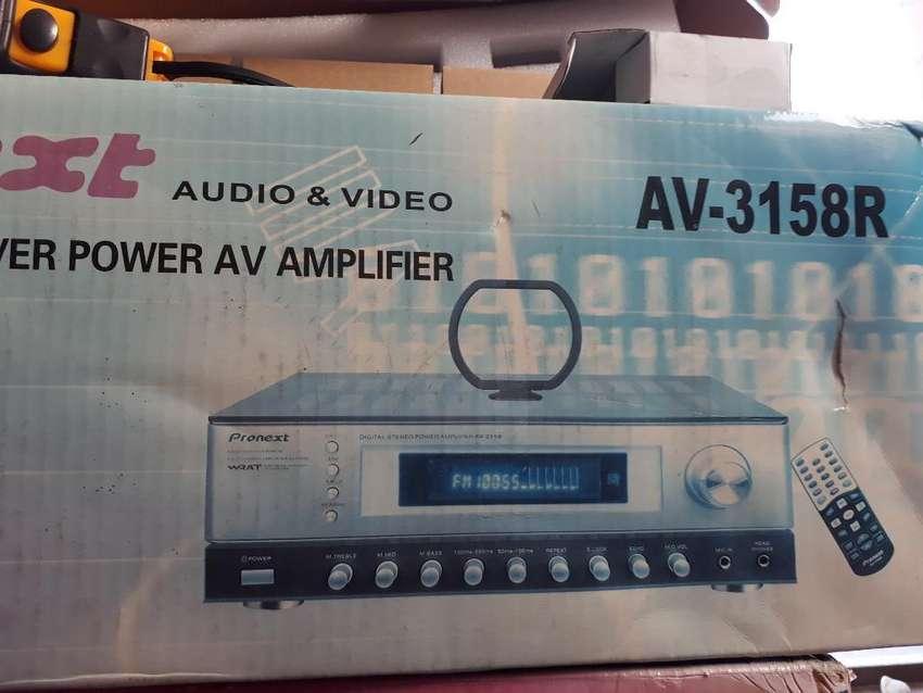 Amplificador Y Quemador  Originales. 0