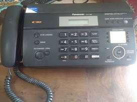 Teléfono fax Panasonic KX-FT988