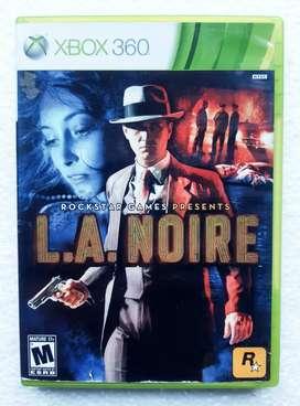 L.A.NOIRE Xbox 360 (3dvds)