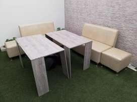 Juego de Mesas y mueble