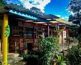 Alquiler casa finca vacacional campestre clima templado cercana a Bogota