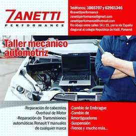 Taller automotriz multimarca