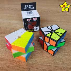 Square One Qifa Qiyi Cubo Rubik Speedcube Profesional