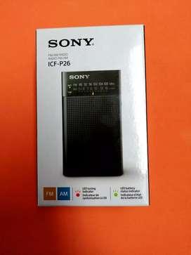 Radio Sony P26