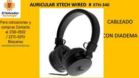 AURICULAR XTECH WIRED  # XTH-340