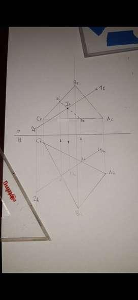 Clases de geometría descriptiva