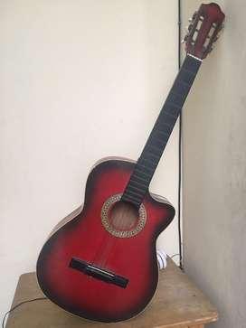Guitarra acustica remato