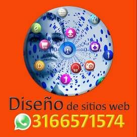 Diseño de páginas web Ibagué, Bogotá, tiendas en línea, carritos de compras, diseñador sitio web en Bogotá