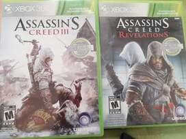 Juegos de Assassin Creed para XBOX 360 con retrocompatibilidad para XBOX ONE