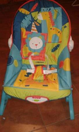 Silla Mecedora Fisher Price Dark Safari