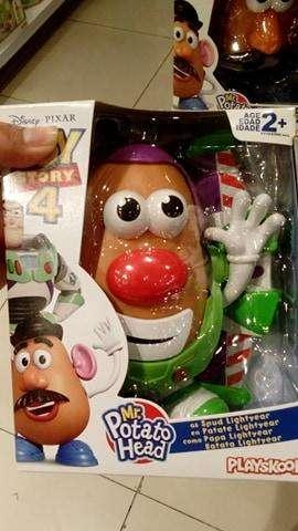 Señor O Señora Cara De Papa Toy Story 4 La Pelicula