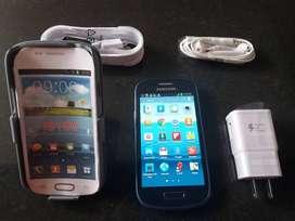Samsung S3 mini y otro S4 mini son Autenticos libres todo Operativo al100x100to incluye su protector Solamente los Vendo