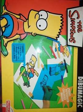 Kit de Dibujo Los Simpsons