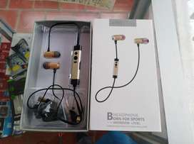 Audífonos Born for sports In-ear L92BL