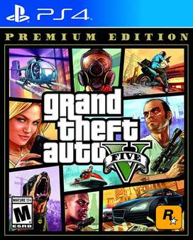 Grand Theft Auto V PS4 Premium Edition