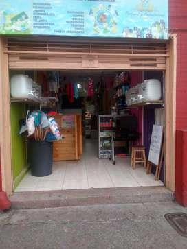 Negocio de aseo apto para papelería y desechables
