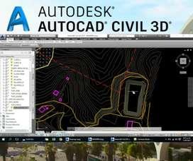 CURSOS DE AUTOCAD CIVIL 3D
