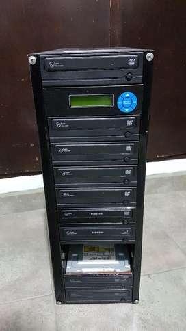 Duplicadora de DVD/CD – Artículo Usado – Leer descripción.