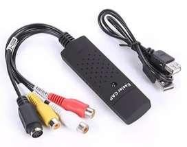 Cable Adaptador Capturadora De Video 4 Canales Para Windows