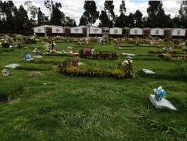 Lote Doble Parque Cementerio El Paraíso