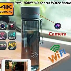 Camara espia WiFi en forma de botella tomatodo