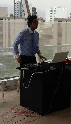 DJ DISCJOCKEY SONIDO LUCES FIESTAS AYMA 996806431