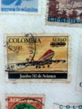 Estampilla de Colombia