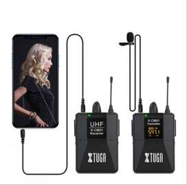 Microfono Inalambrico UHF 16 Canales a 3,5mm XTUGA X-CM012