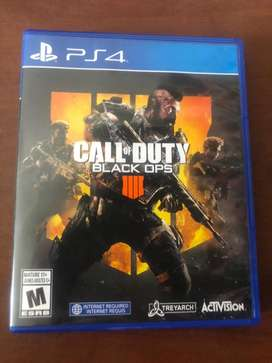 Call of duty black ops 4 ps4 cod bo4