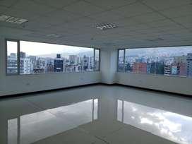 Oficina de arriendo sector La Carolina, República del Salvador, Centro Norte,  Quito