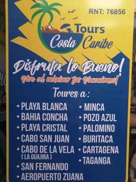 Paquetes turístico (Cabo de la vela) $ 200 mil