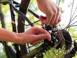 Reparación y mantenimiento de Bicicletas.