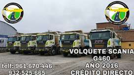 VOLQUETE SCANIA G460 AÑO 2016
