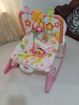 Vendo silla mecedora para bebé Fisher Price