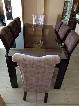 Juego de Comedor 8 sillas