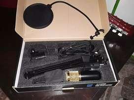 Microfono con condensador nuevo
