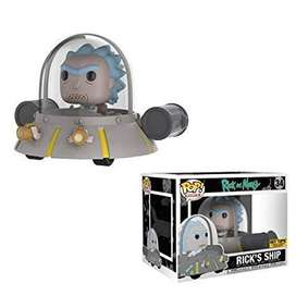 Funko pop Rick and Morty rick ship exclusivo hot topic