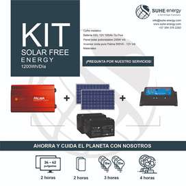 Kit energía Solar