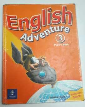 Libró de Inglés: English Adventure 3