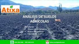 Servicio de análisis de suelo agrícola