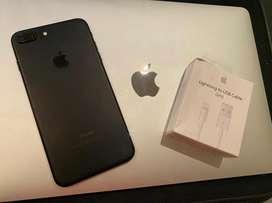 Oferta! Iphone 7 Plus de 32 gb Negro con 83% de bateria original!