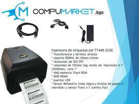 Impresora De Etiquetas SAT TT448-2 USE