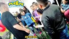 Fiestas infantiles recreacionistas, show de titeres, magia