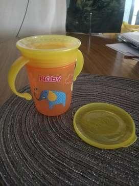 Vaso antiderrame 360 de Nuby